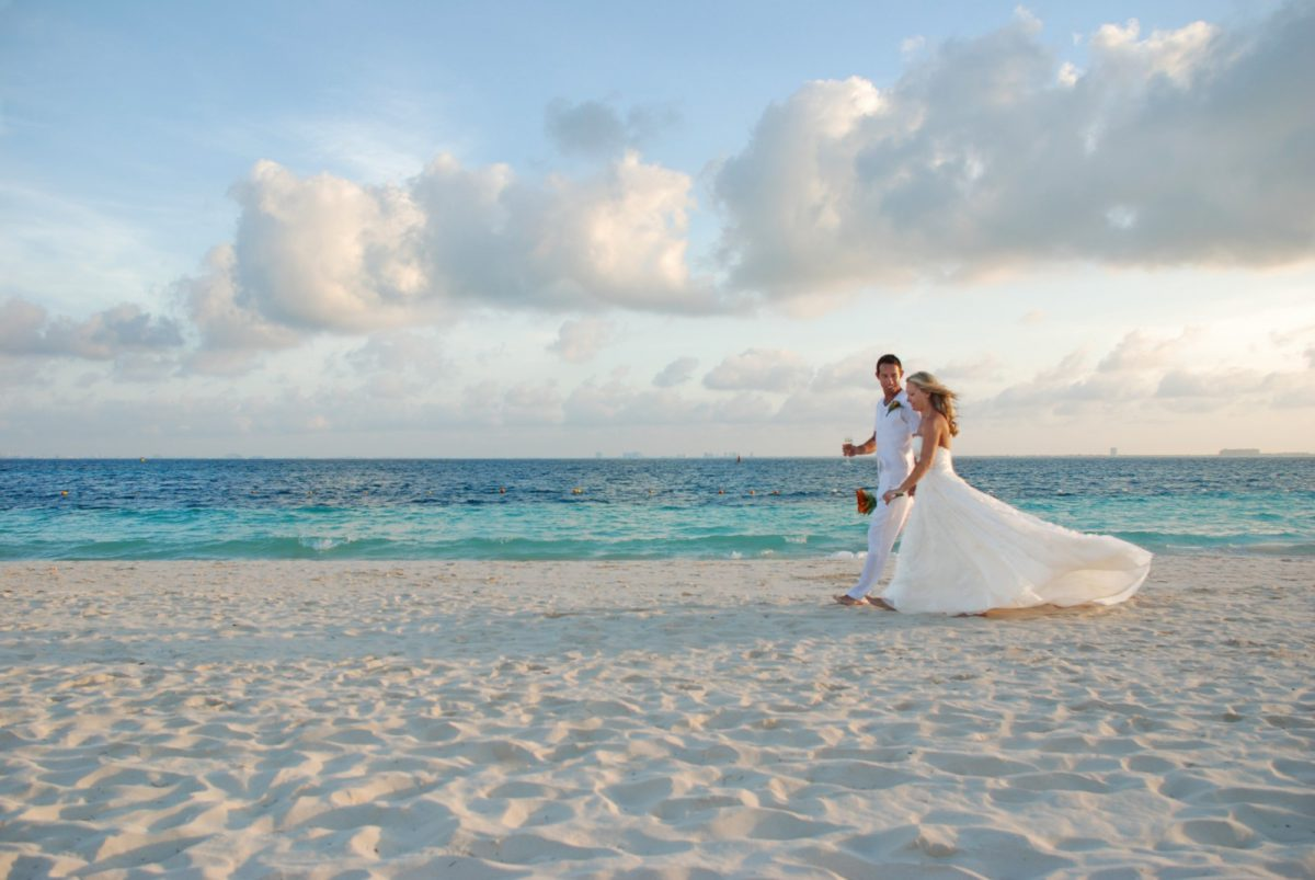 Isla Mujeres Beach Wedding