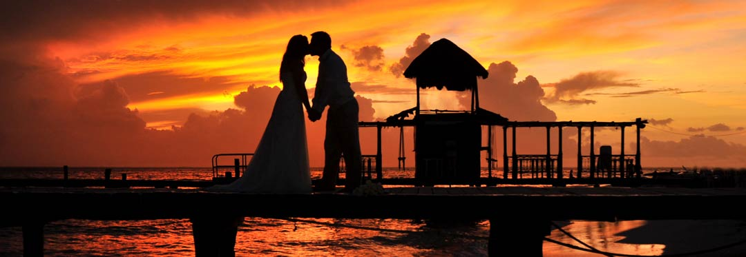 Isla Mujeres Sunset Wedding